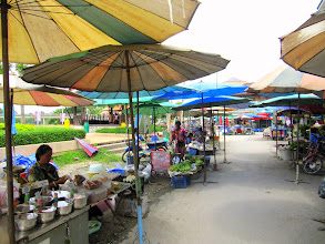 Photo: Day 325 -  The Market in Uthai Thani