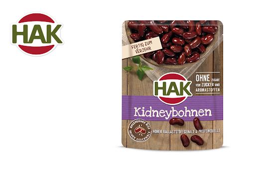 Bild für Cashback-Angebot: HAK Kidneybohnen - Hak