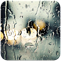 Transparent Rain Glass icon
