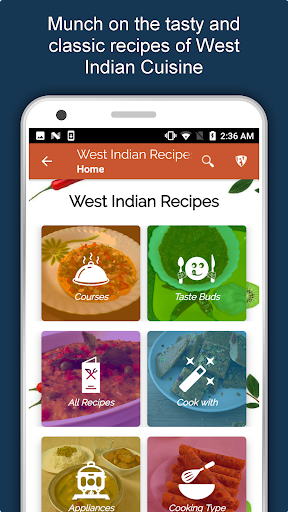 west indian food recipes offline: gujarati marathi screenshot 2