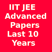 IIT JEE Advanced 10 year paper
