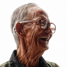 I'm a happy man by Azmil Omar - People Portraits of Men