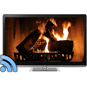 Fireplaces on TV - Chromecast