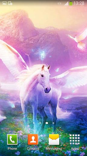 Unicorn Live Wallpaper Screenshot 12