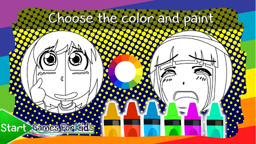 Anime and Manga Coloring Book  screenshots 2