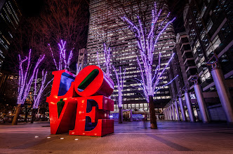 Photo: Love Sculpture in Shinjuku, Tokyo