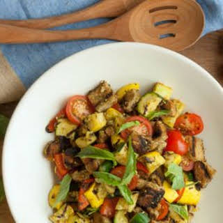 Grilled Vegetable Panzanella.