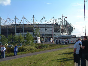Photo: 19/05/05 v Preston North End (Football League Championship PO SF2) 0-0 (agg 0-2) - contributed by Martin Wray