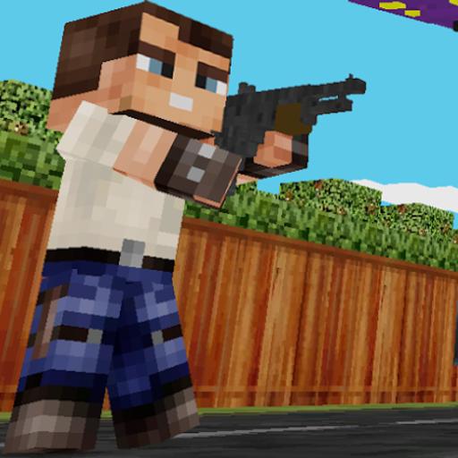 Block Gun 3D - Minecraft Style