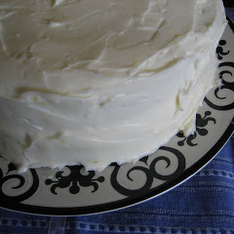 10 Best White Cake With Cream Cheese Frosting Recipes   Yummly
