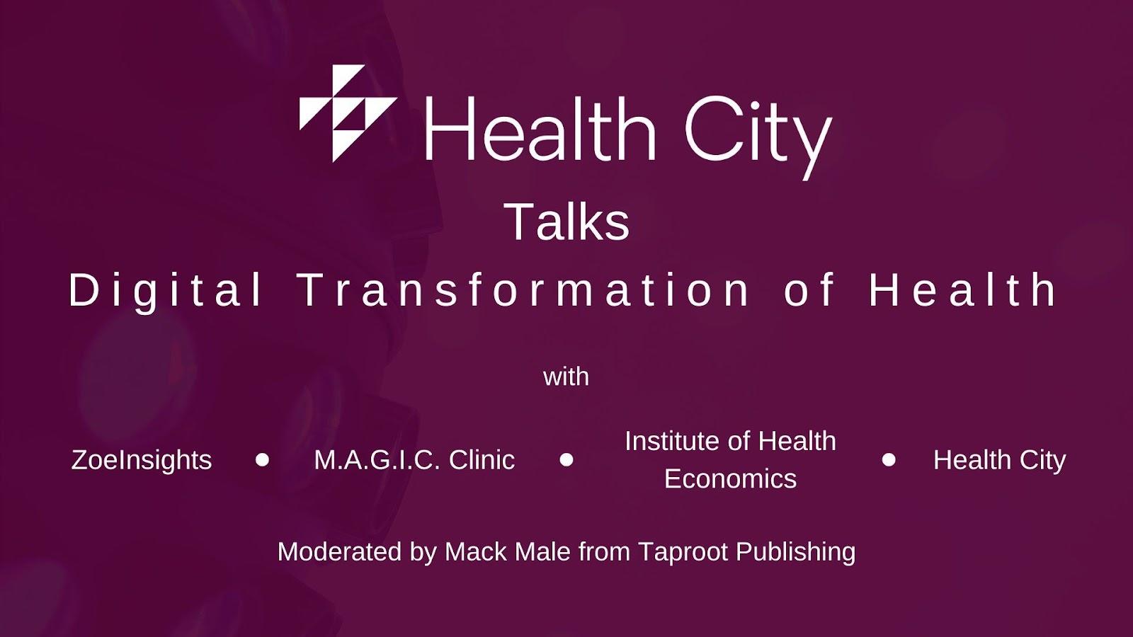 Health city talks