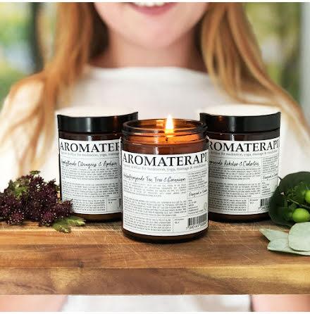 Aromaterapi by KLINTA - Upplyftande Citrongräs & Apelsin