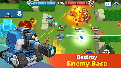 TankCraft 2: Online War  captures d'écran 2