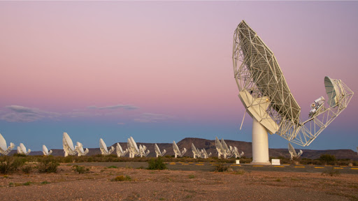 MeerKat, a 64-dish radio telescope, will be incorporated into phase one of the SKA.