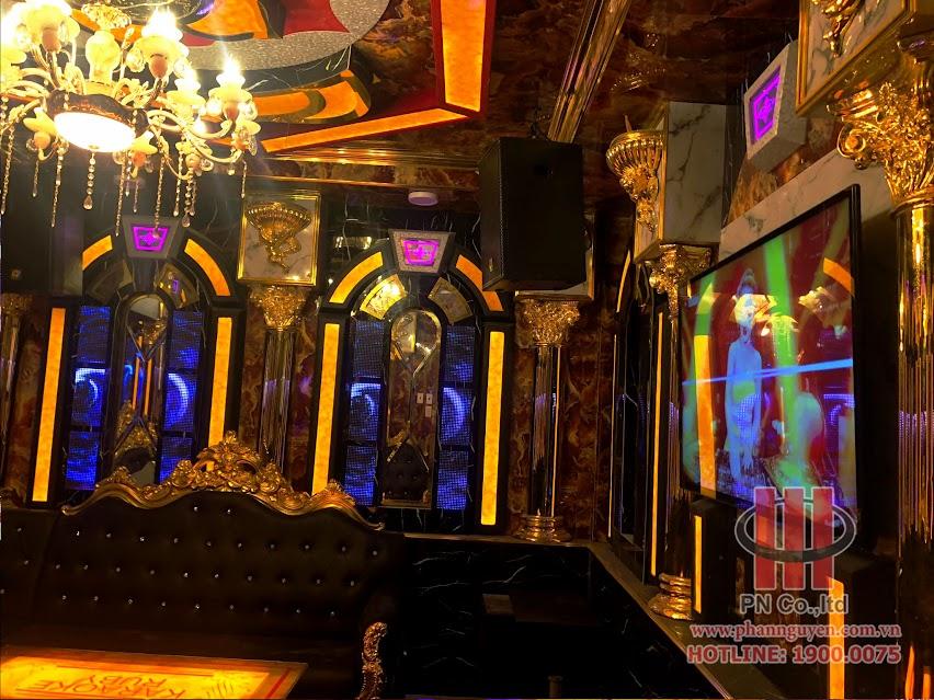 Công trình thi công âm thanh - nội thất chuyên nghiệp tại karaoke Ruby - Bình Chánh, Tp.Hồ Chí Minh