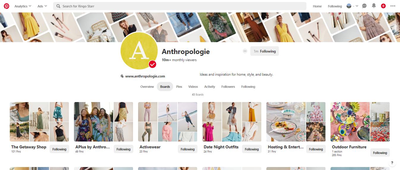 Anthropologie on Pinterest