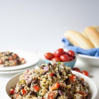 Qunioa Farro Salad.