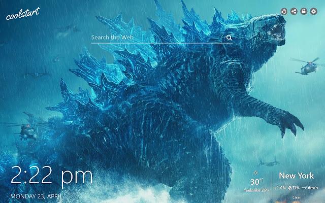 Godzilla HD Wallpapers Monsters New Tab Theme