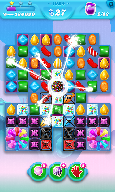 Candy Crush Soda Saga Android App Screenshot