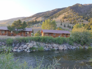 Photo: The view of the Slide Inn from the Madison River.