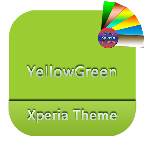 YellowGreen | Xperia™ Theme