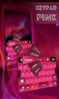 Screenshot of Keypad Pink