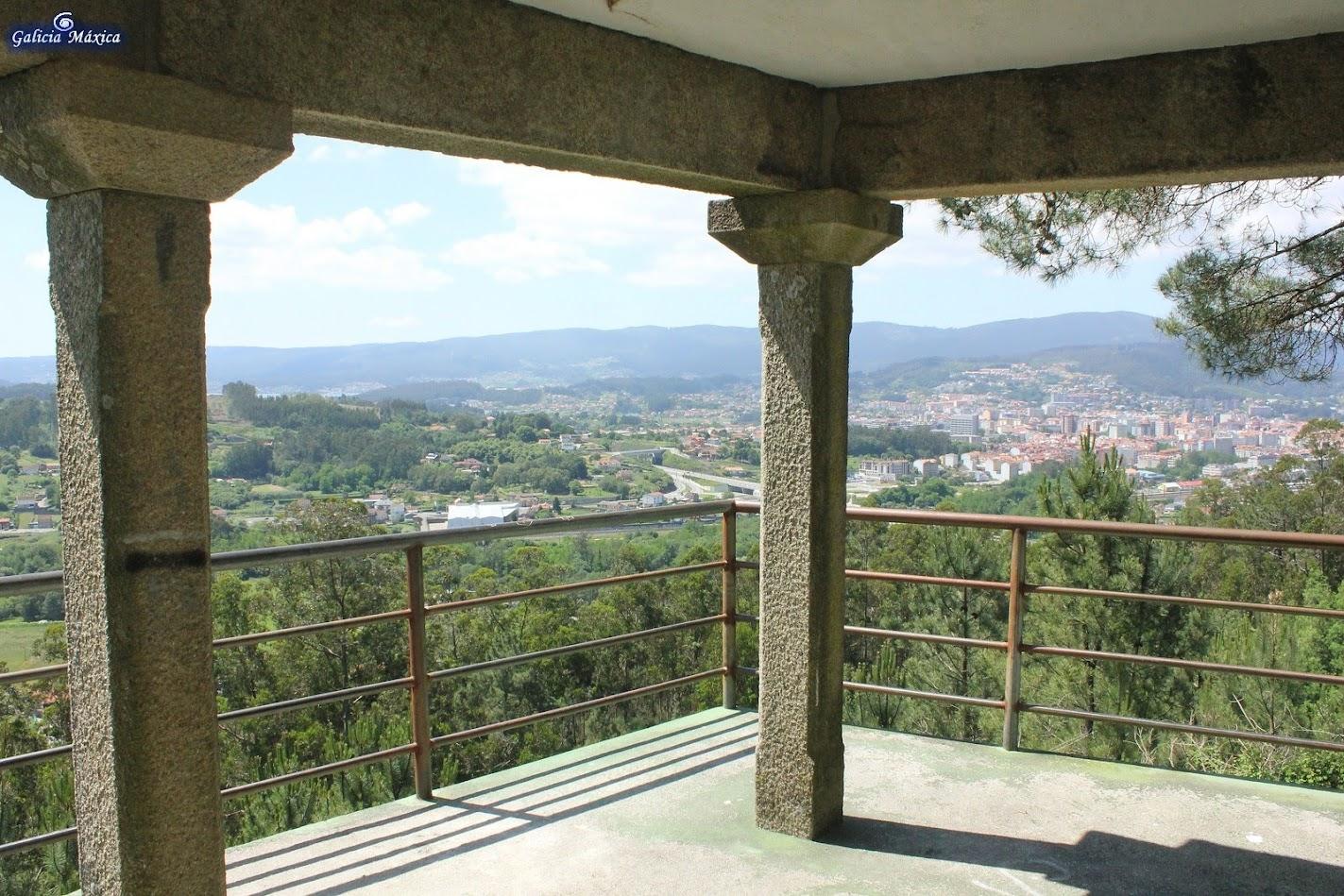 Mirador a Pontevedra