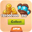 Guia of Coin Master Daily Spin and Hints icon
