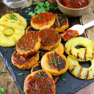 Tofu Burgers With Pineapple BBQ Sauce