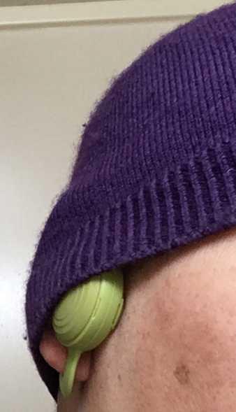 BONX Grip 装着(ニット帽にフィット)