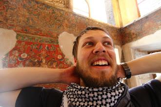 Photo: Barzdotis karalių rūmuose.   The beardy man in king's palace.