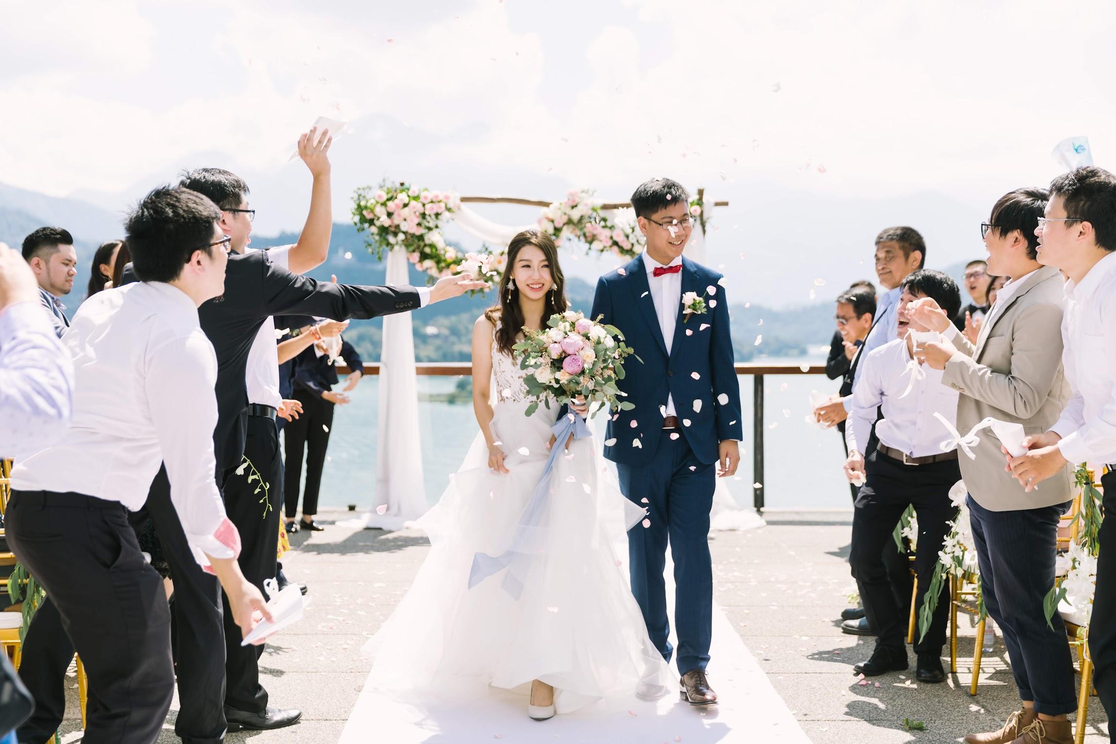涵碧樓婚禮攝影 -證婚