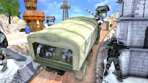 Army Truck Cargo Transport Simulator screenshots 2