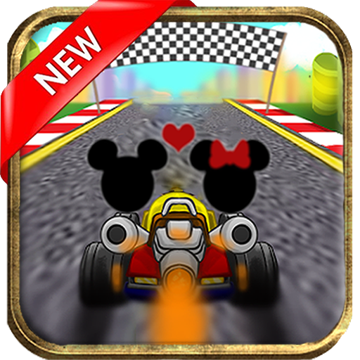 Mickey and Minnie Race (game)