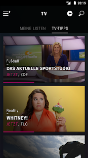 EntertainTV mobil (Smartphone) – Miniaturansicht des Screenshots