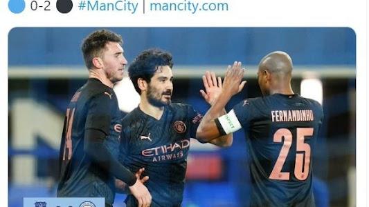 Hasil Piala FA - Bertahan Mati-matian Everton Sia-sia, Manchester City Melaju ke Semifinal - Bolasport.com