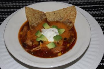 Crock Pot Chicken Enchilada Soup Recipe