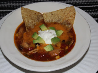 Crock Pot Chicken Enchilada Soup Recipe