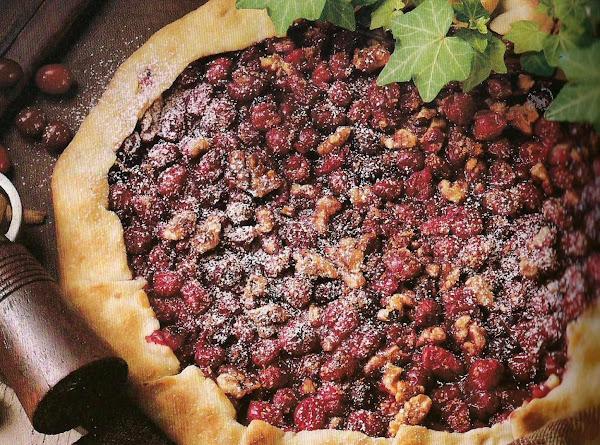 Crostata De Noci E Mirtilli Rossi (cranberry Walnu Recipe