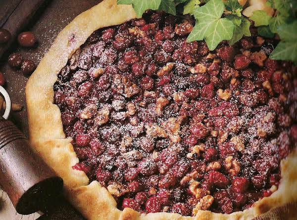 Crostata De Noci E Mirtilli Rossi (cranberry Walnu