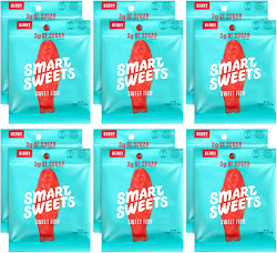 Smart Sweets Sweet Fish Candy - 12pk