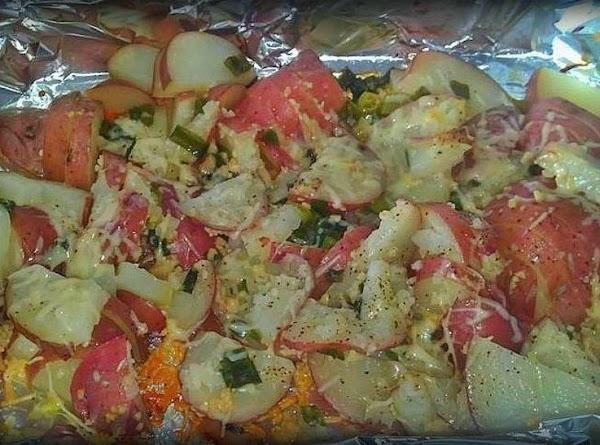 Parmasean Italian Potatos Recipe