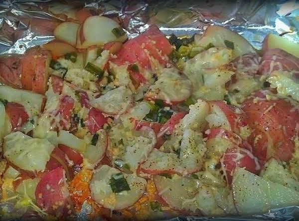 Parmasean Italian Potatos