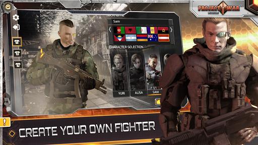 Projet de Guerre Mobile - jeu de tir en ligne APK MOD – Pièces de Monnaie Illimitées (Astuce) screenshots hack proof 2