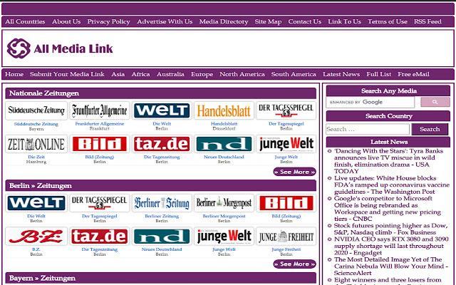 All German Newspapers Online