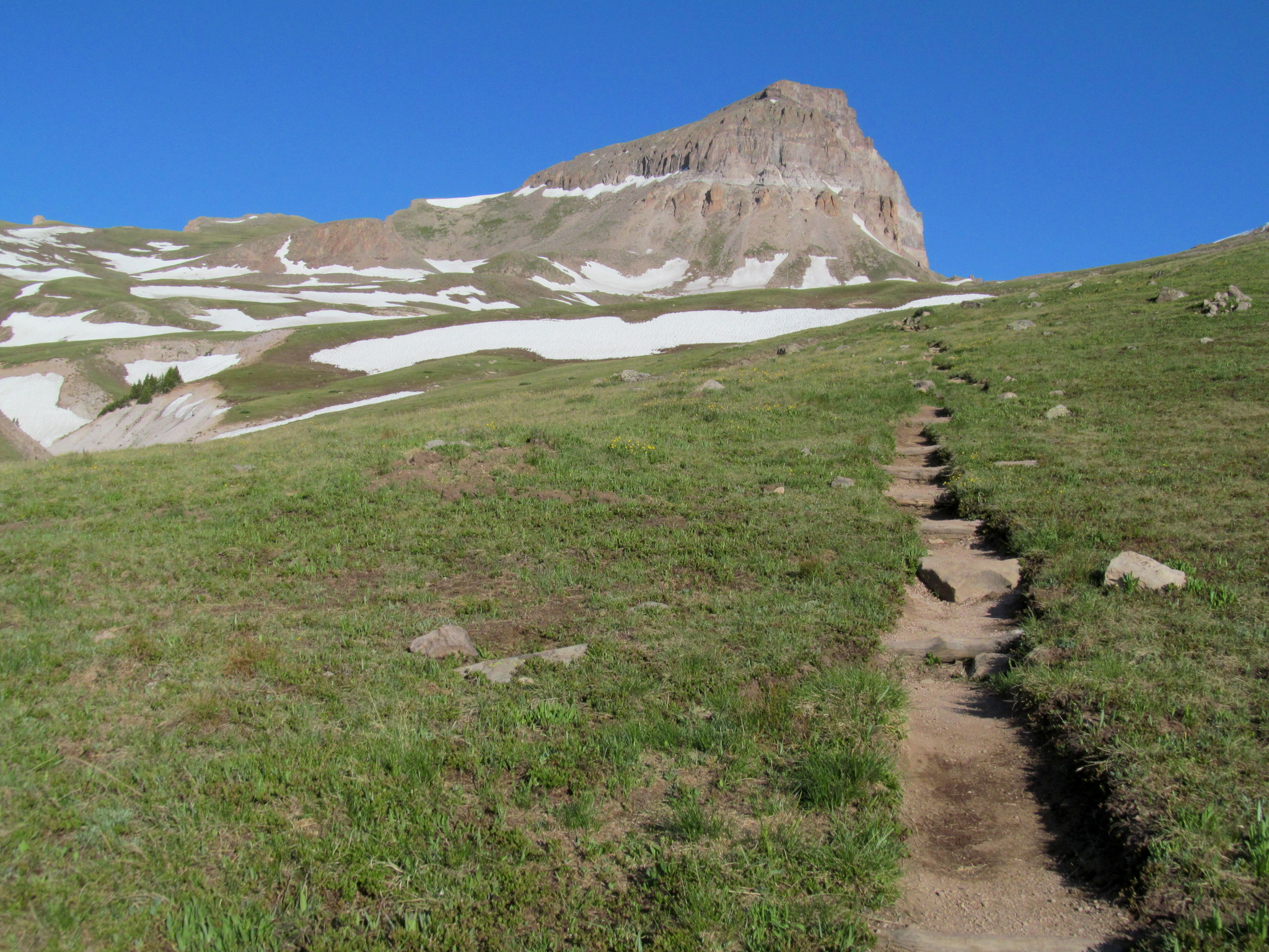 Photo: Approaching the steeper section of trail
