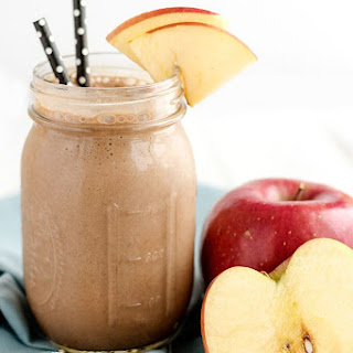 Chocolate Peanut Butter Apple Protein Shake Recipe
