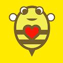 BeeChat : หาเพื่อน แชท หาคู่ คนโสด หาแฟน เดท พบปะ icon