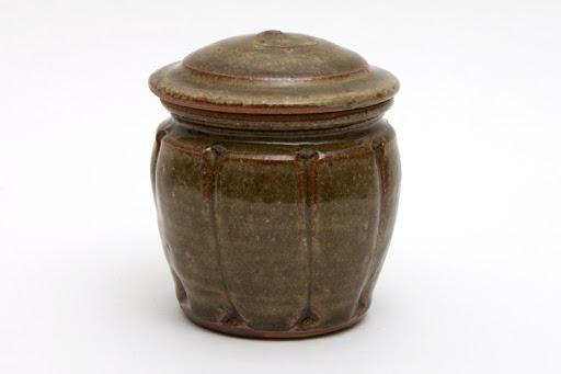 Mike Dodd Small Ceramic Jar 005