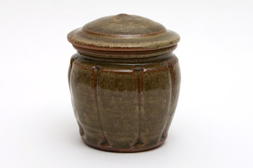 Mike Dodd Small Ceramic Jar 005